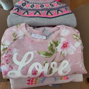 Box of babygirl clothes 2-3T